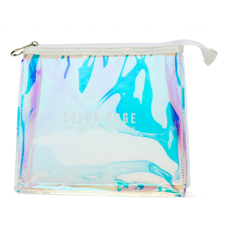 Small Iridescent Cosmetic Pouch